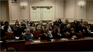 Testifying in MD for New Lyme Bill / Freedom of Choice
