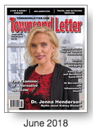 Townsend Letter Reprint – Health Legislation in MD